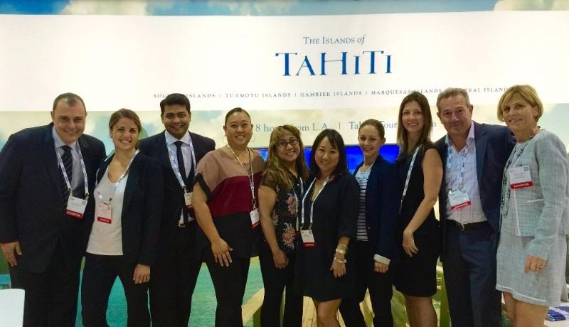 Tahiti Tourisme salon IMEX America
