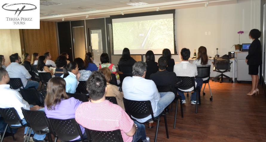 Séminaire de formation Tahiti Tourisme chez le TO Teresa Perez