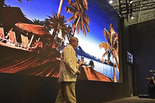 Tahiti Et Ses Îles au salon de la photographie CP+