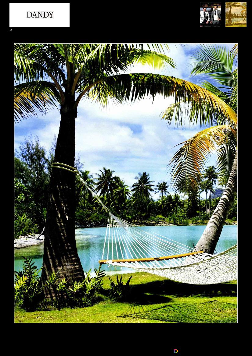 23 pages de Tahiti Et Ses Îles dans le Dandy Magazine