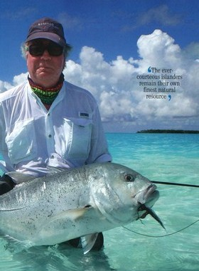 Le magazine Country life parle de Tahiti
