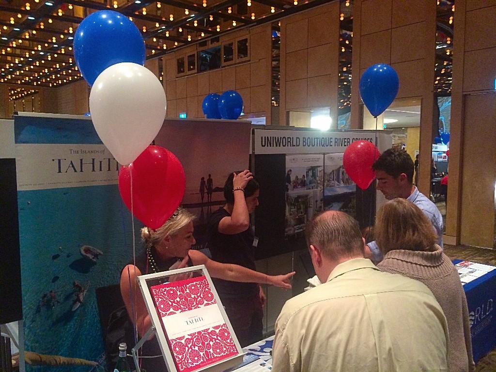 Tahiti Tourisme participe au workshop d'Atout France à Sydney