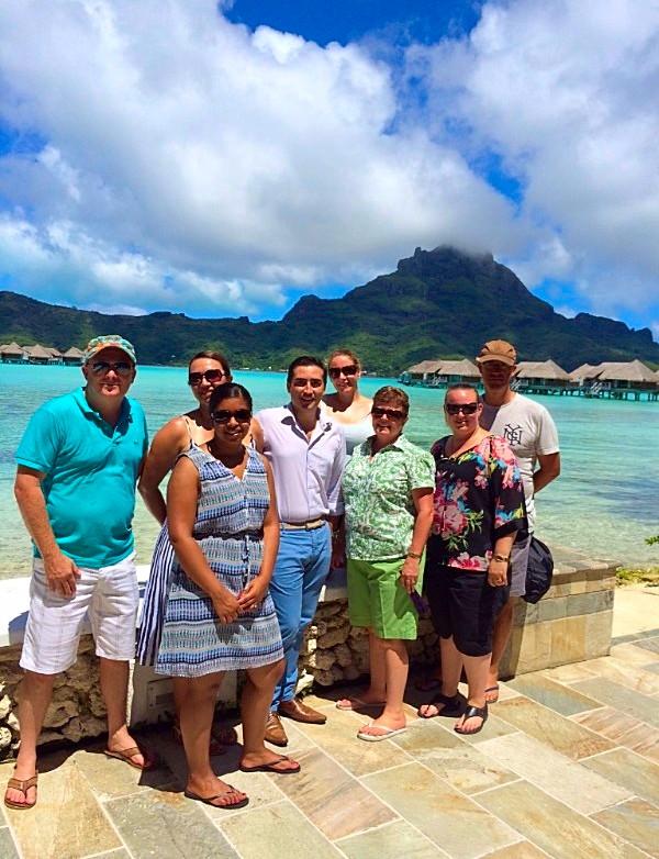 Les agents tiare néo zélandais à la découverte de Tahiti Et Ses Îles