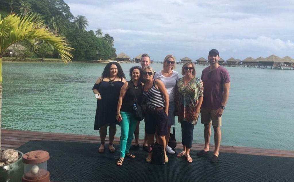 Les agents Tiare partent à la découverte de Tahiti Et Ses Îles