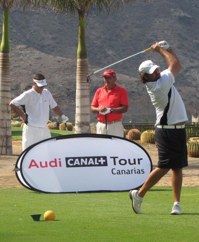 Tahiti Et Ses Îles partenaire de la golf Audi Canal+