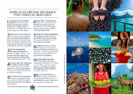 8 pages sur Tahiti Et Ses îles dans le Lonely Planet Traveler