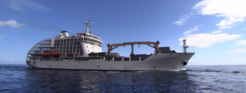 Tahiti Tourisme et l'Aranui accueillent l'émission japonaise Gojuko no cruise