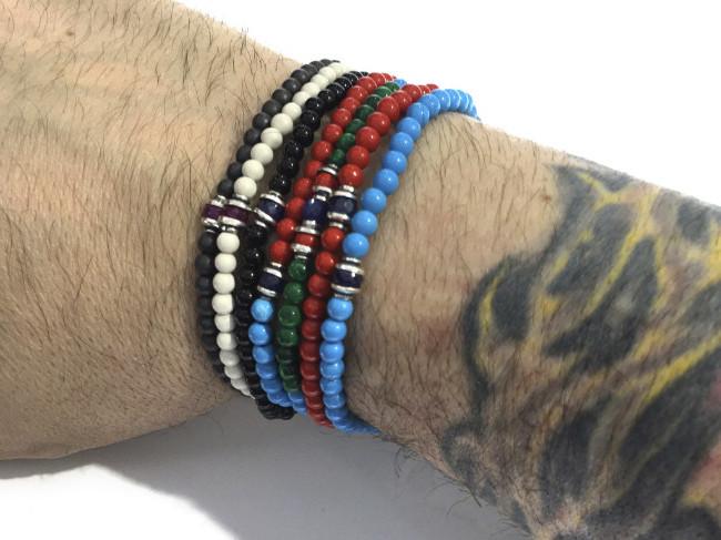 Photo of men's bracelets