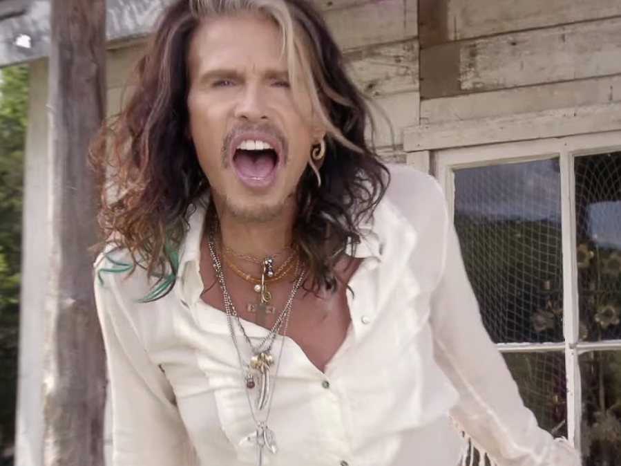 Steven Tyler is Non-Stop Busy
