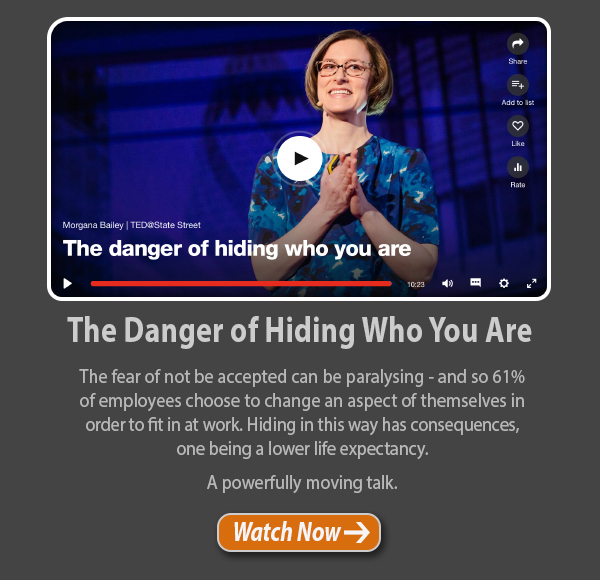 The Danger of Hiding Who You Are