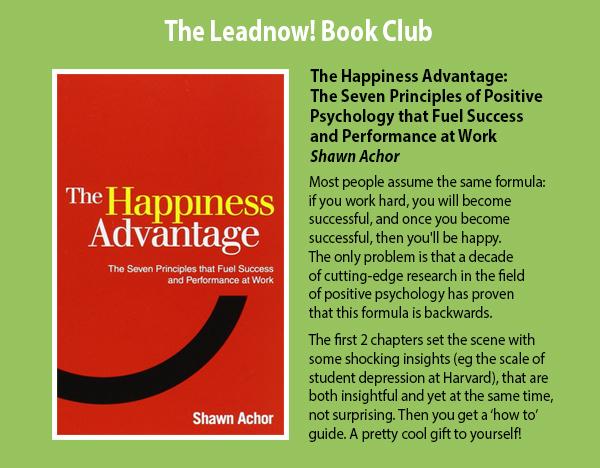 The Leadnow Book Club