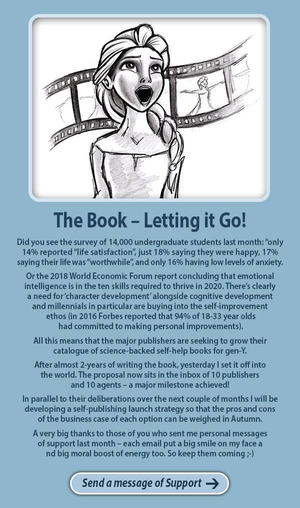 The Book – Letting it Go!