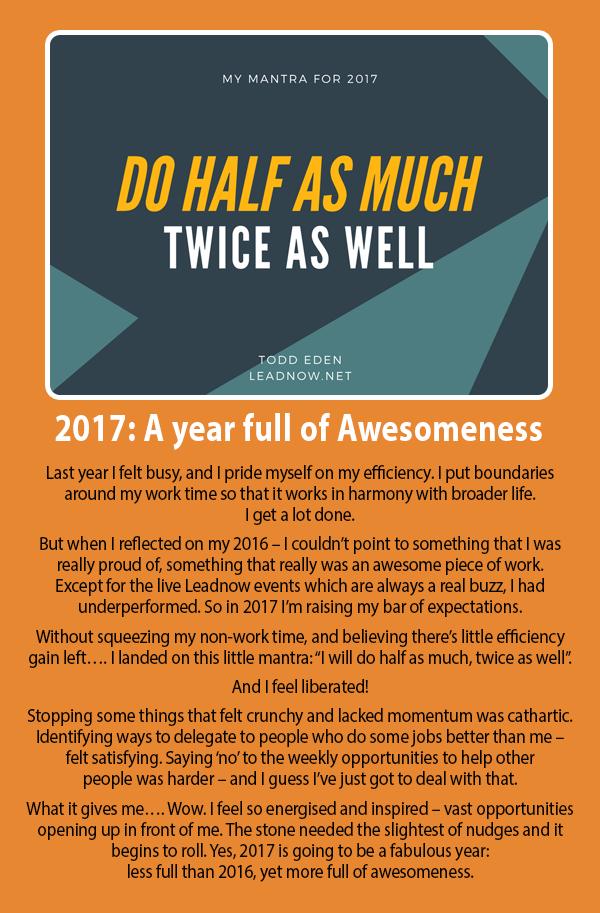 Half as Much