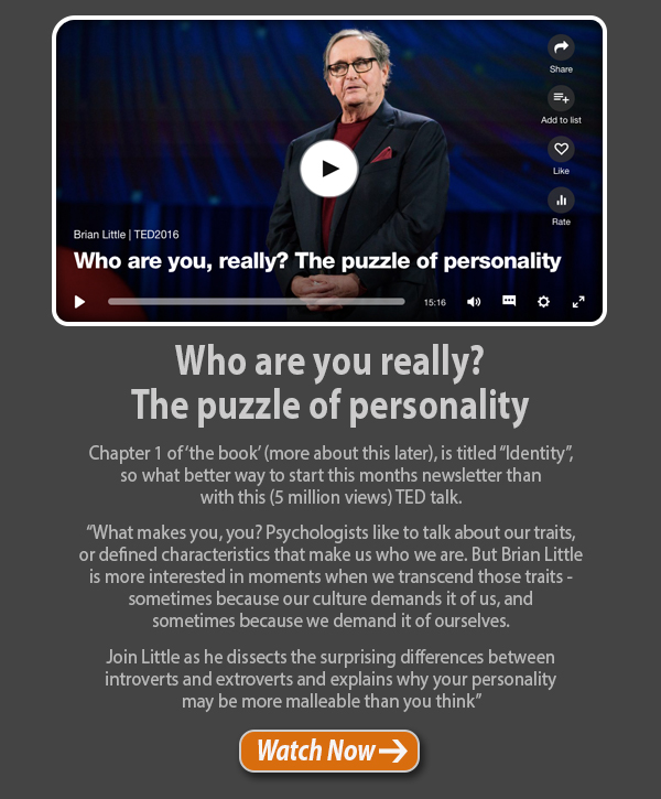 Who are you really? The puzzle of personality