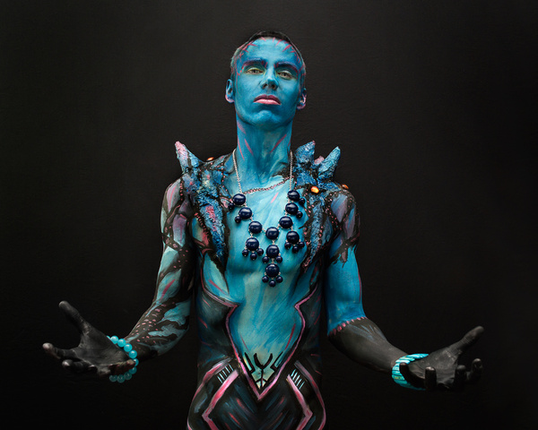 Free body painting from Brandon McGill