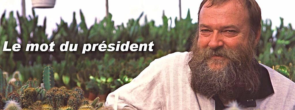 Le mot du président