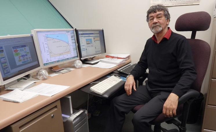 Image of Patrice Turchi, researcher at Critical Materials Institute