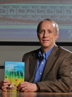 Image of Rod Eggert, researcher at Critical Materials Institute