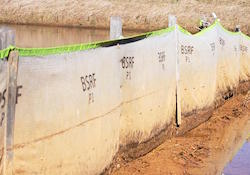 Priority 1 Silt Fence features an internal scrim for support