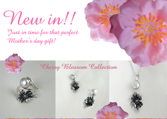 Cherry Blossom Sterling Silver Jewellery