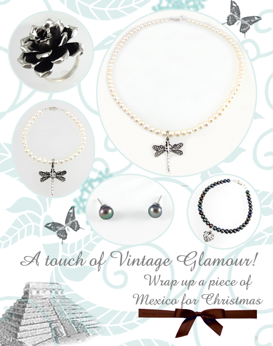 Vintage style sterling silver gifts