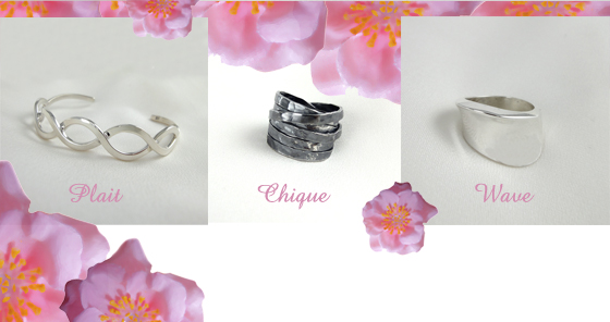 Sterling Silver Rings & Bracelet Cuffs