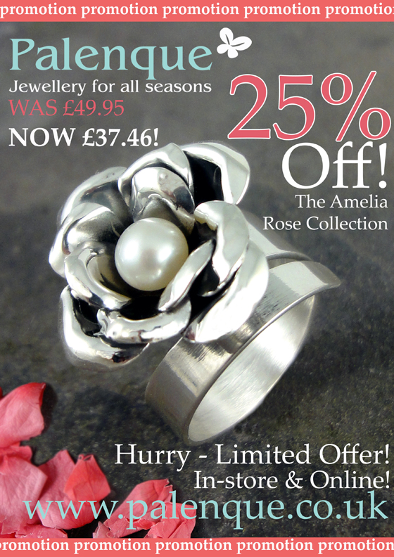 Amelia Rose Pearl & Sterling Silver Jewellery