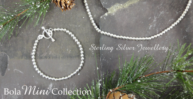 Sterling Silver Bola Mini Jewellery Collection