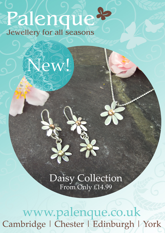 Brand New Silver Daisy Collections