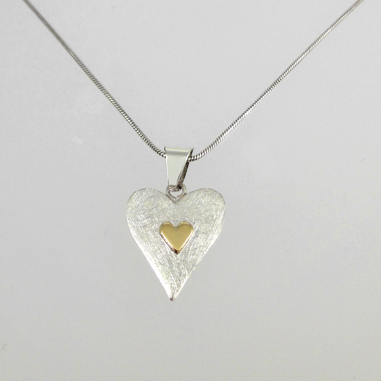 Sterling Silver Heart Jewellery