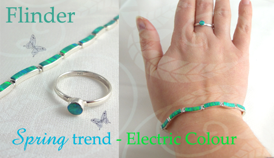 Sterling Silver & Opal Jewellery