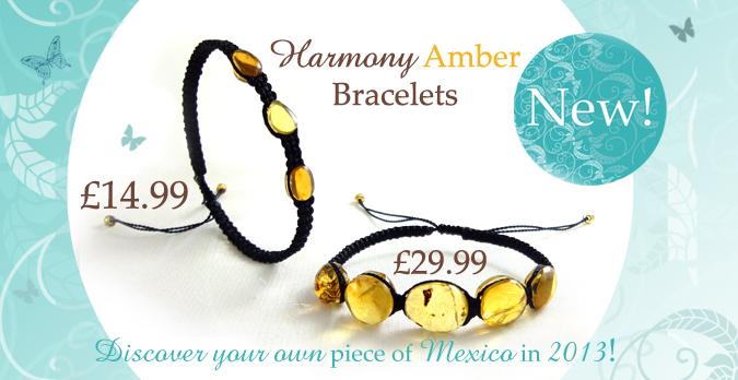 Harmony Amber Mexican Bracelets