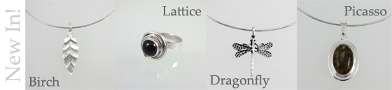 Brand new sterling silver jewellery collections!