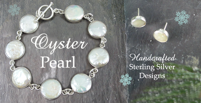 Contemporary Sterling Silver & Pearl Jewellery