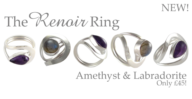 Sterling Silver Jewellery Stone Rings