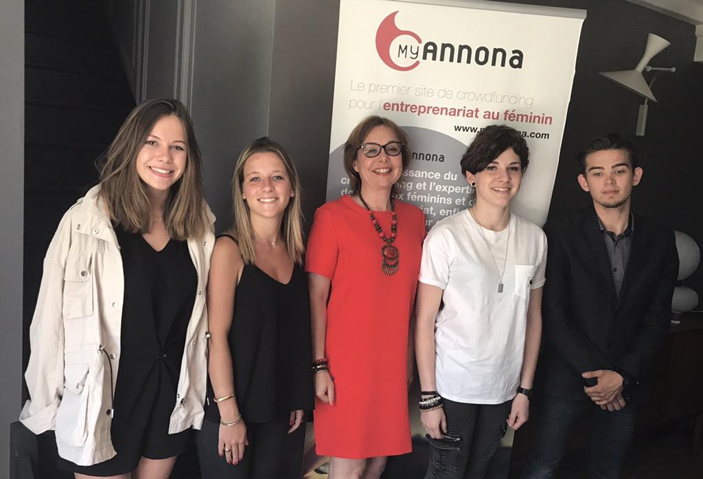 l'équipe MyAnnona 2017