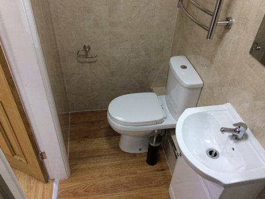 Dawlish first floor shower room
