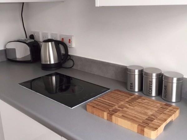 student kitchen area