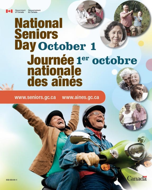 National Seniors Day / Journee national des aines