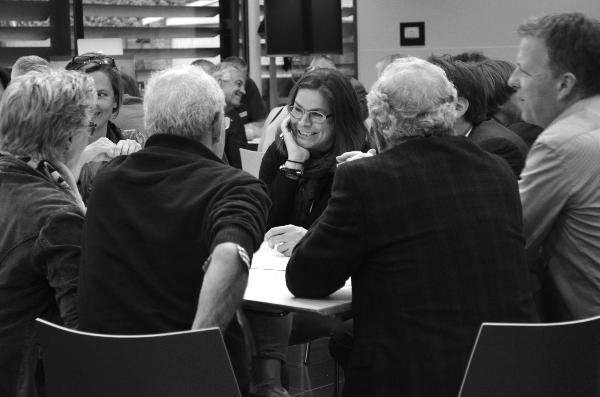 """""""Werken aan één profiel van de stad daarvoor is visie, focus en samenwerking een voorwaarde""""  Willemien Bouman, Willemien Eetwaar"""