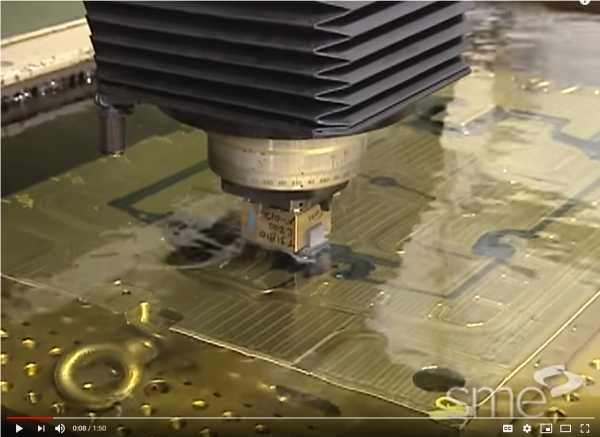 Electrical Discharge Machining Video