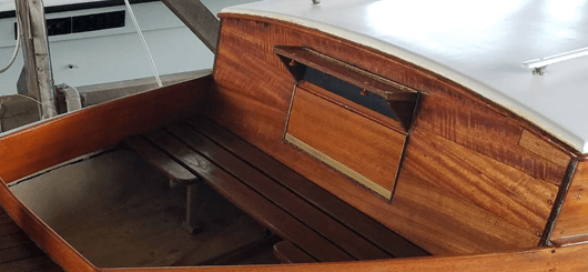 1930 Elco Bow Pulpit Hatch