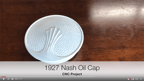 Video of the 1927 Nash radiator cap project