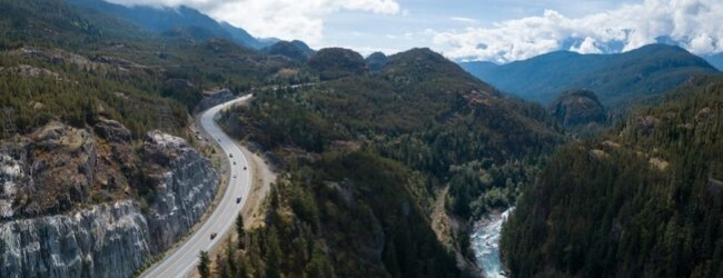 Top 10 scenic routes in Western Canada