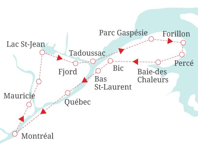 Tour de la Gaspésie