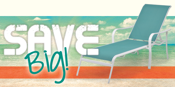 Save on Cay Sal Chaise Lounge!