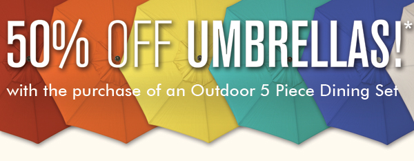 Umbrellas on Sale!