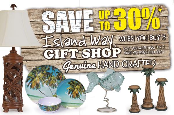 Island Way Accessory Sale!