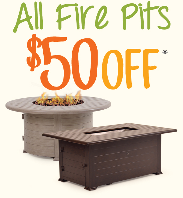 Save on All Firepits!