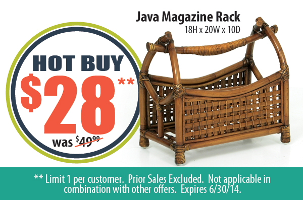 Java Magazine Rack